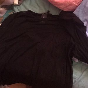 Tops - Lane Bryant Brand New Black long sleeve shirt